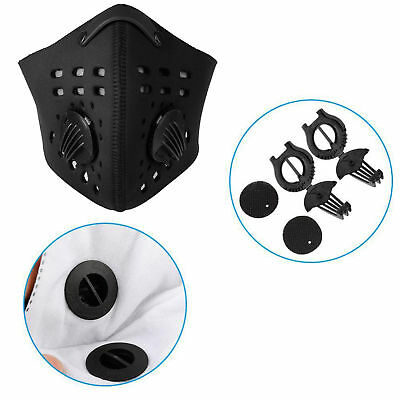 Durable Anti-dust Pollution Dustproof Filter Half Face Mask for Outdoor Cycling