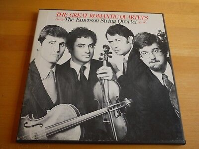 Great Romantic Quartets Dvorak Brahms Borodin Ravel Emerson String Quartets BMR