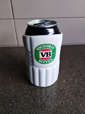 vb vic bitter can cooler -flat older style velcro - rare