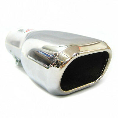 Exhaust Pipe Tip Tail Muffler Chrome For Mazda 2 3 5 Demio Premacy Xedos MPV
