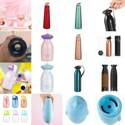 Thermos Stainless Steel Vacuum Insulated Flask Water Bottle Double Wall 6 Styles