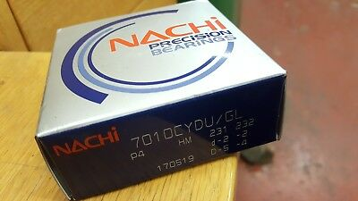 Nachi 7010CYDU/GL matched pair