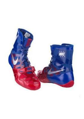 NIKE HYPER KO Boxing Shoes Bullet Club kn1670 Blue Red US 9.5 27.5 cm
