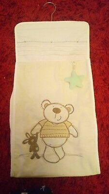 Nappy Stacker Nursery Changing Accessories I Love My Bear from Bruin Babies R Us