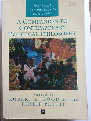 A Companion To Contempotary Political Phylosophy