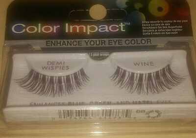 a096aed36c2 Ardell color impact lashes demi wispies enhances blue, green and hazel eyes