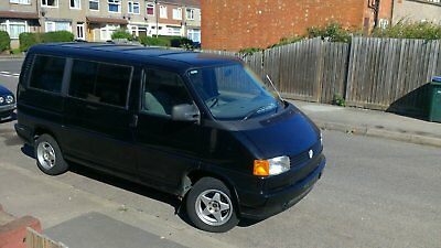 vw t4 caravelle with wheelchair lift