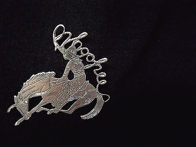 Vintage Bucking Bronco Pin Cowboy's Lasso Spells 'Whoopee'  rare 1920 - 1930