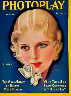 Photoplay Cover 1931 8 A3 Box Canvas