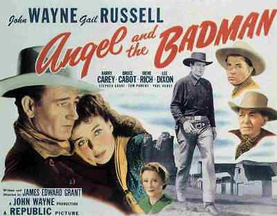 Angel and the Badman 02 Film A3 Box Canvas