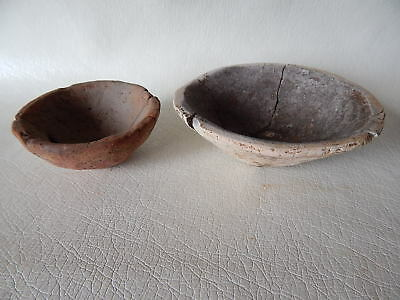 Neolithic Ritual Bowls Trypillian culture. Ukrainian artifacts.
