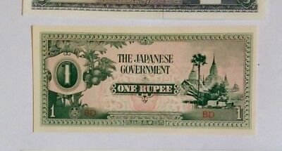 Japan 1 Rupee Invasion currency Unc!!!!