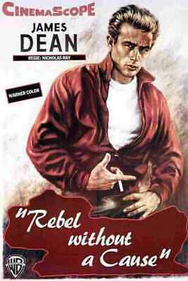 Rebel Without a Cause 01 Film A3 Box Canvas