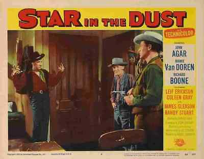 Star in the Dust 11 Film A3 Box Canvas
