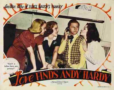 Love Finds Andy Hardy 08 Film A3 Box Canvas