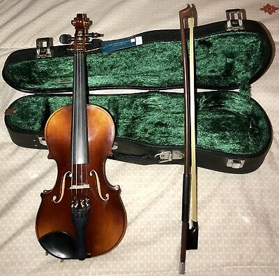 Etude Model Nagoya Suzuki violin 1/10 NWT WITH Rosin and bow And Case