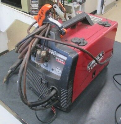 Pro Mig 140: Lincoln Electric 140 Amp Wire Welder no shipping. Local pickup only