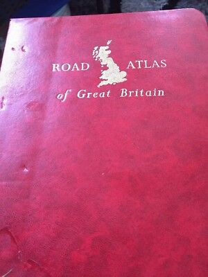 road atlas Of Great Britain 1971 Edition