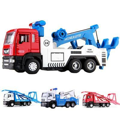 1:50  City Road Rescue Scale Diecast Wrecker Trucks Car Trailer Vehicle Kids Toy