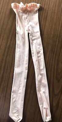 Capezio Tights Child Size S/M Pink Full Footed