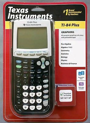 Texas Instruments TI-84 PLUS Graphing Calculator NEW FACTORY SEALED