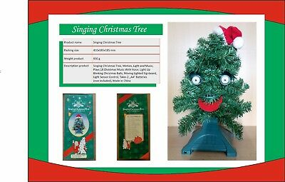 Singing Christmas Tree & Singing Christmas Decoration