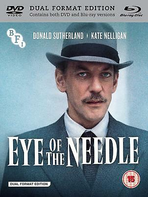 The Eye of the Needle - Blu ray & DVD - NEW & SEALED - Donald Sutherland