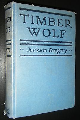 Timber Wolf by Jackson Gregory Grosset & Dunlap Vintage Classic Youth Fiction