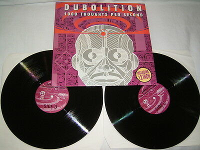 """LP + 12"""" - Dubolition 1000 Thoughts per Second - 1997 # cleaned"""