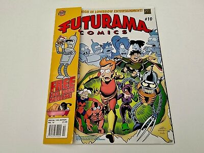 Futurama Graphic Comic Special X Edition #10. Benderine! Laser Leela! Frying!