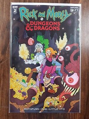 Rick And Morty Vs Dungeons & Dragons #2 1:10 Variant Cover