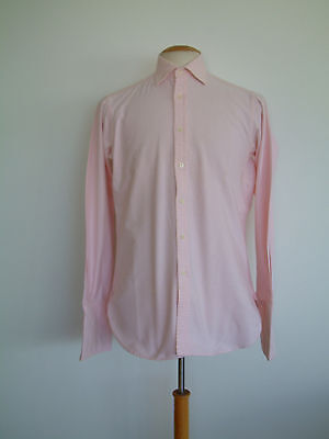 """Thomas Pink Shirt..vintage..size 14.5""""..made In England..superb Condition"""