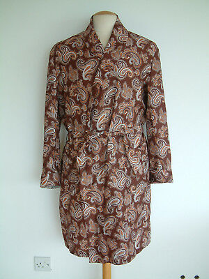 1960's DRESSING GOWN..LARGE..PAISLEY..MOD..SCOOTER..CHAP..WELLER..SAMMY..TOOTAL