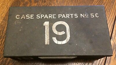 Vintage Military Wireless Radio # 19 Spare Parts No. 5C Metal Case