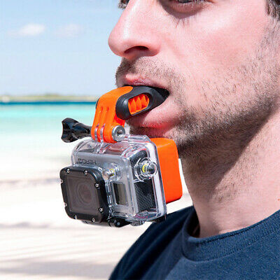 Mouth Mount Tooth Holder Surfing Braces Floaty fits GoPro Hero 7 HERO7