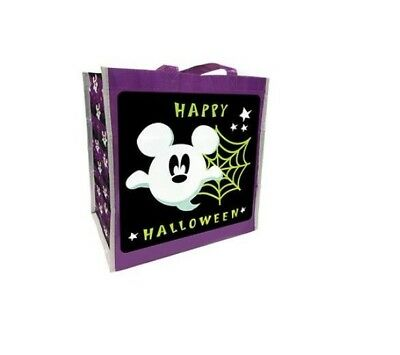 Disney Mickey Mouse Ghost Halloween Trick or Treat Bag