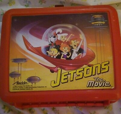 Jetsons The Movie Lunchbox 1990 Vintage