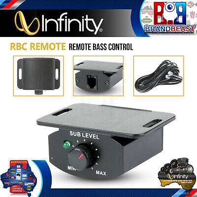 Infinity Rbc Remote Bass Control For Infinity Amplifiers And Basslink