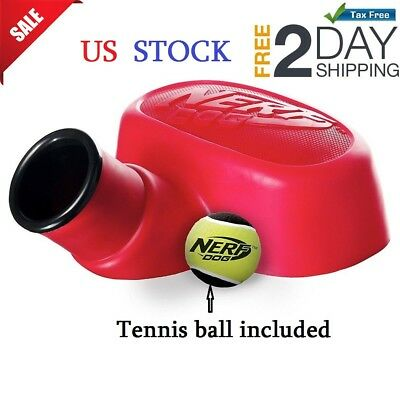 Dogs Tennis Ball Thrower And Launcher Pet Toy Training Puppy Outdoor Sport Play