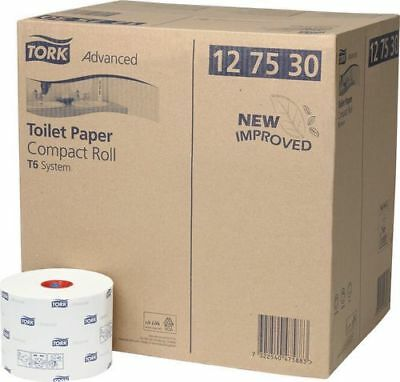 Tork Advanced Compact Toilet Paper 2 Ply 27 Rolls (127530)