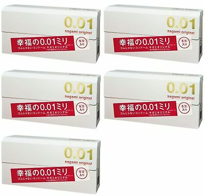 Sagami Original Condom 001 0.01 mm  - 1pc, 2 pcs, 1 Box, 2 , 3 Boxes available