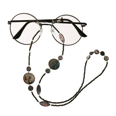 Eyeglass Reading Spectacles Sunglasses Glasses Cord Holder Necklace Chain Beaded