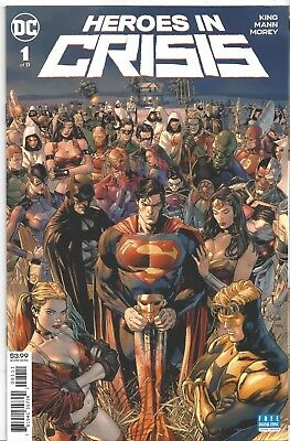 Heroes In Crisis #1 First Print DC 2018
