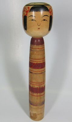 Kokeshi japanese traditional crafts JAPAN rare beutiful F/S*