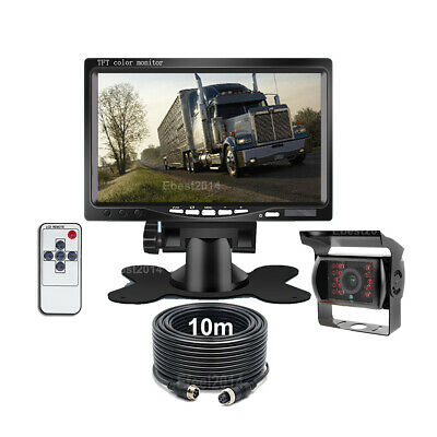 Car Rear View Backup Camera With IR LED Night Vision Full HD CCD Back up Cam US
