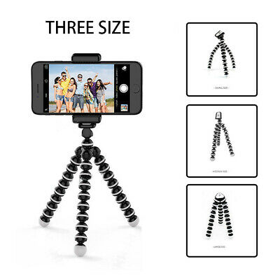 S/M/L Camera Cam DSLR SLR Flexible Tripod Gorilla Octopus Mount Stand Holder