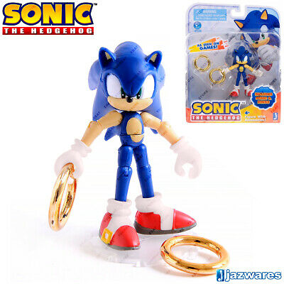 SONIC with Rings, The Hedgehog 65816, Collection Figure, Cartoon Character