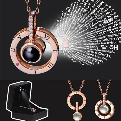 Subloom - 100 I Love You Necklace for forever lover FREE SHIPPING