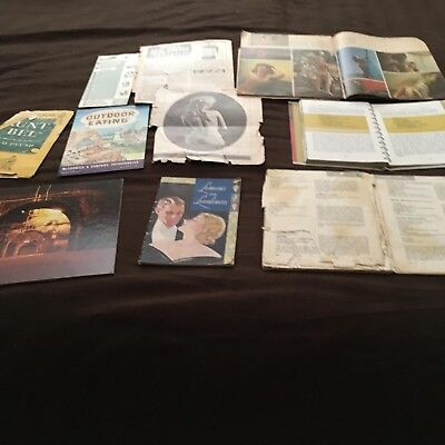 Lot of 10 Vintage Misc. Items