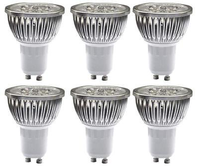 3/4/5W GU10 LED Bulbs, Dimmable Spot Light ,Recessed Lighting,110 Volts  6 Pack